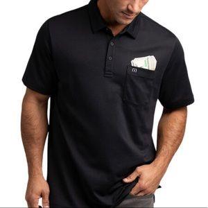 NEW Travis Mathew CASINO STRUT Golf Polo M Black
